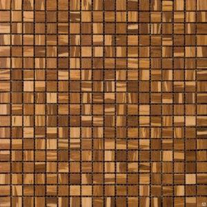 Деревянная плитка-мозаика