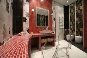 Туалетный столик из мозаики