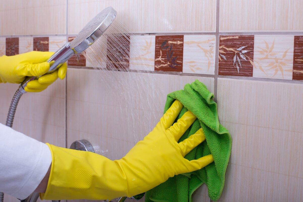 Правила чистки плитки