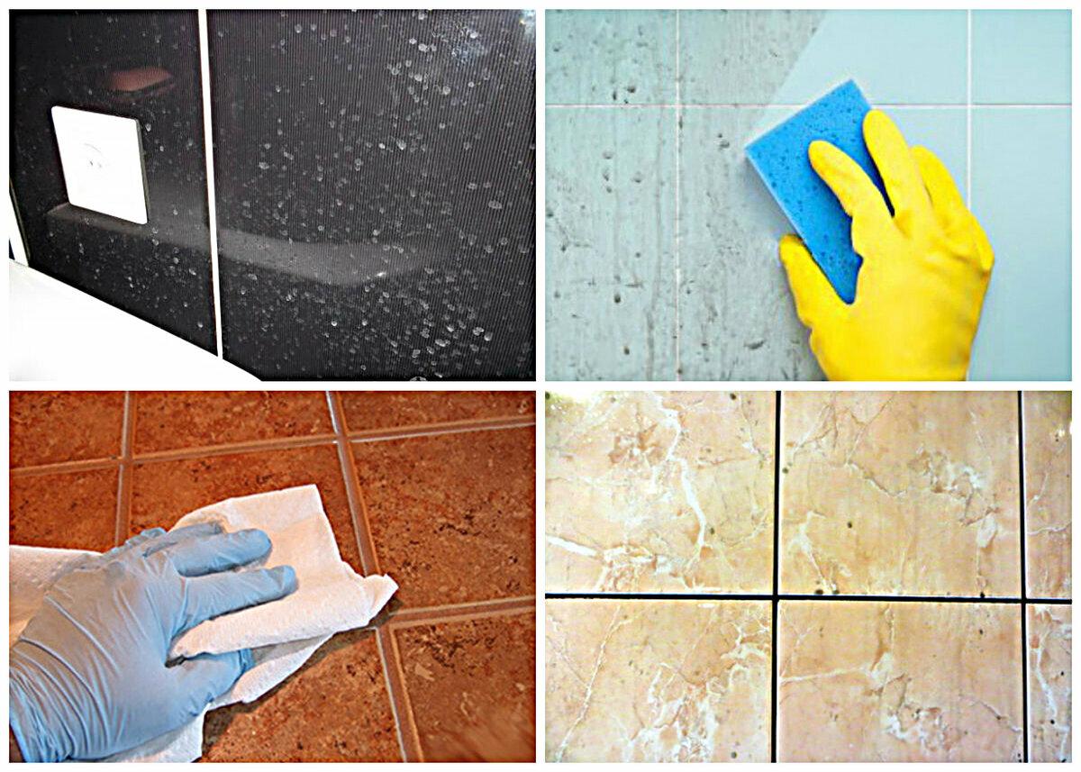 Особенности мытья разных видов плитки