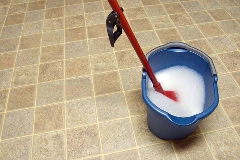 отмыть кафель от грунтовки